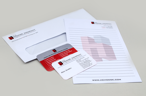H.E. Hodge Company Logo + Stationery Package