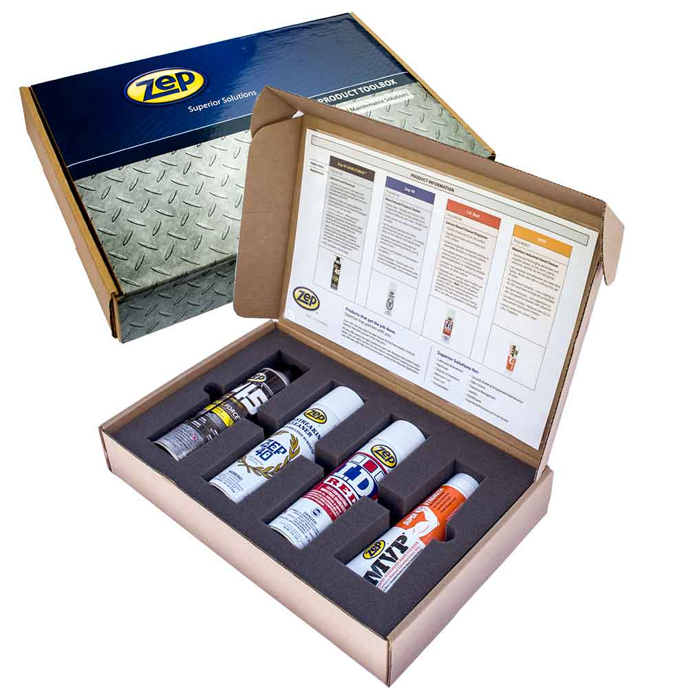 Zep Inc. Product Toolbox Kit