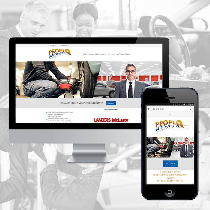 People 1 Automotive Website